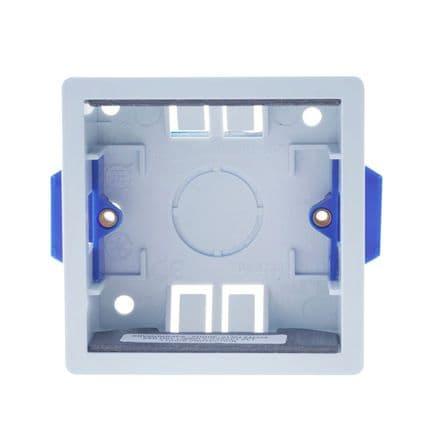 BG Square Dry Lining Box - 1 Gang 35mm